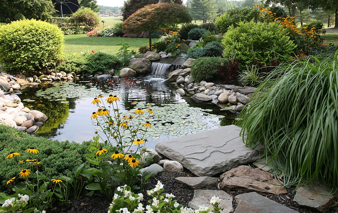 How to Add a Fish Pond or Water Garden To Your Land
