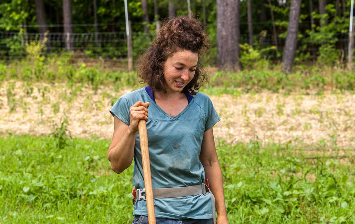 What Drives a Woman to Become a Farmer?