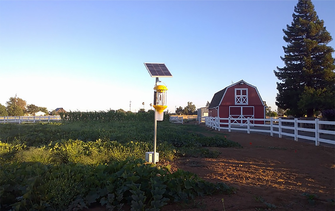 Solar Powered Pest Control Machine offers alternative to pesticides