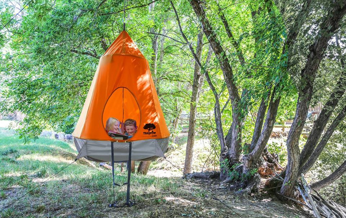 TreePods: Portable treehouses, no building required