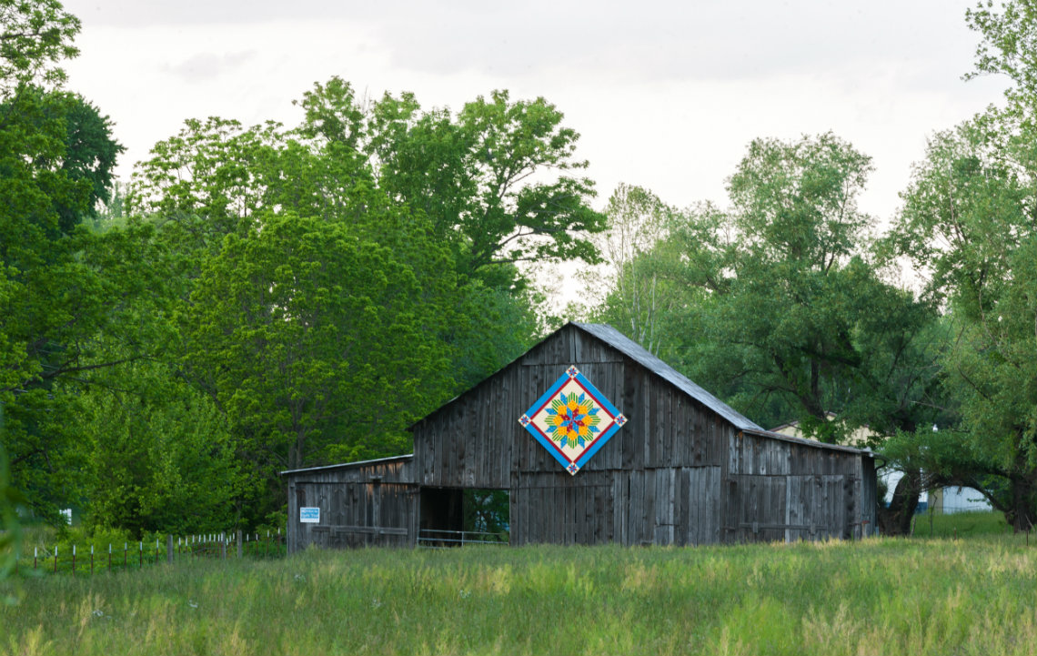 Taking a tour on a Southern quilt barns trail