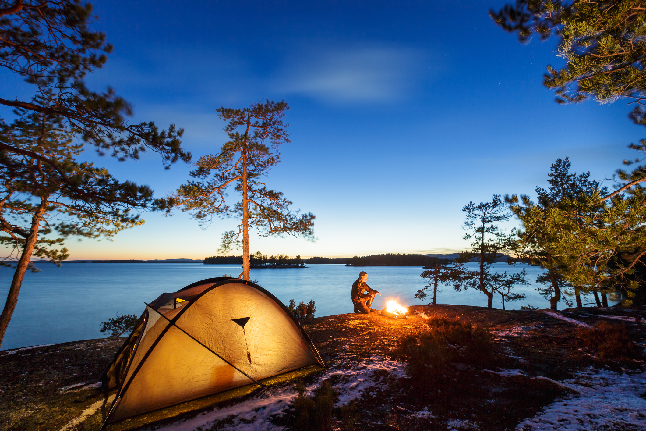 4 Safety Tips for Cold Weather Camping in the South