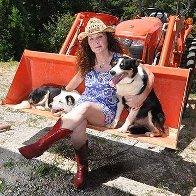Vickey's love for dogs led her back to country life