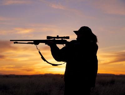teen girl deer hunting