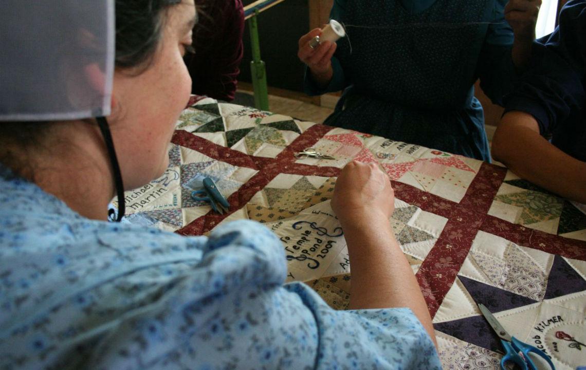 Friendship in a quilt   Rethink Rural Blog