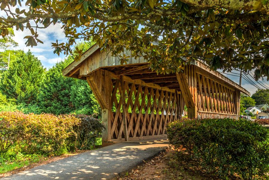 Horace King Memorial Covered Bridge
