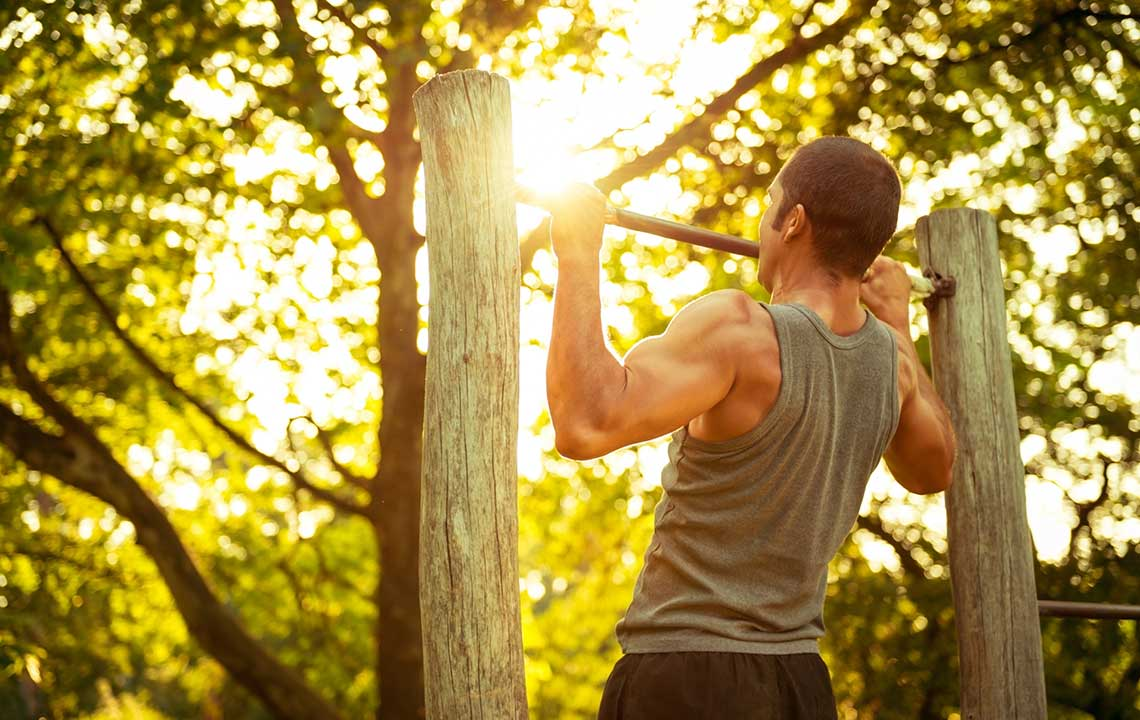 Staying fit in the country: no gym required