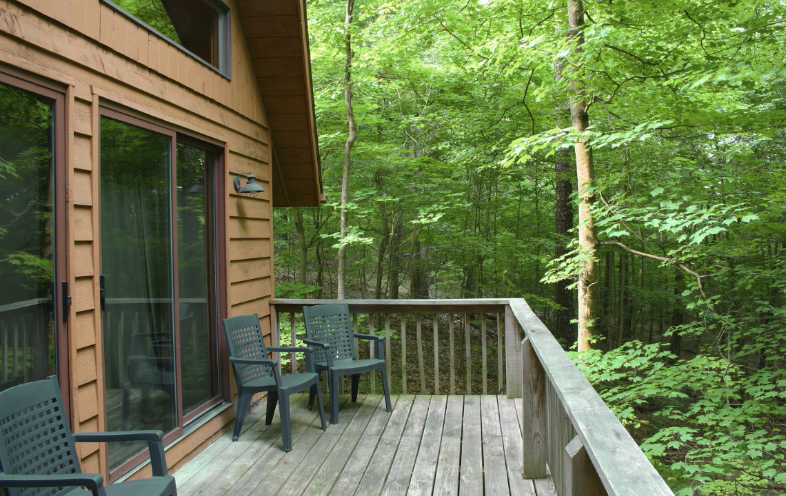 The back deck: My