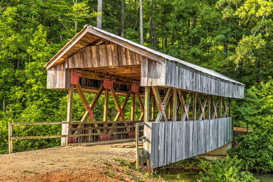 Saunders Family Covered Bridge