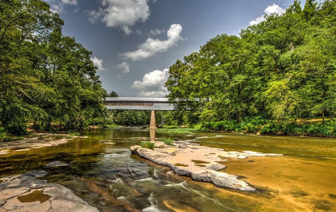 Swann Covered Bridge  Rethink Rural Blog