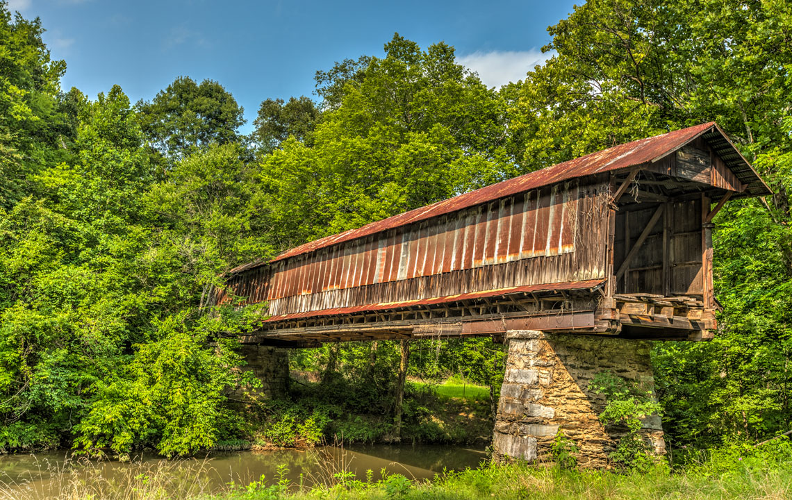 Waldo Covered Bridge   Rethink Rural Blog