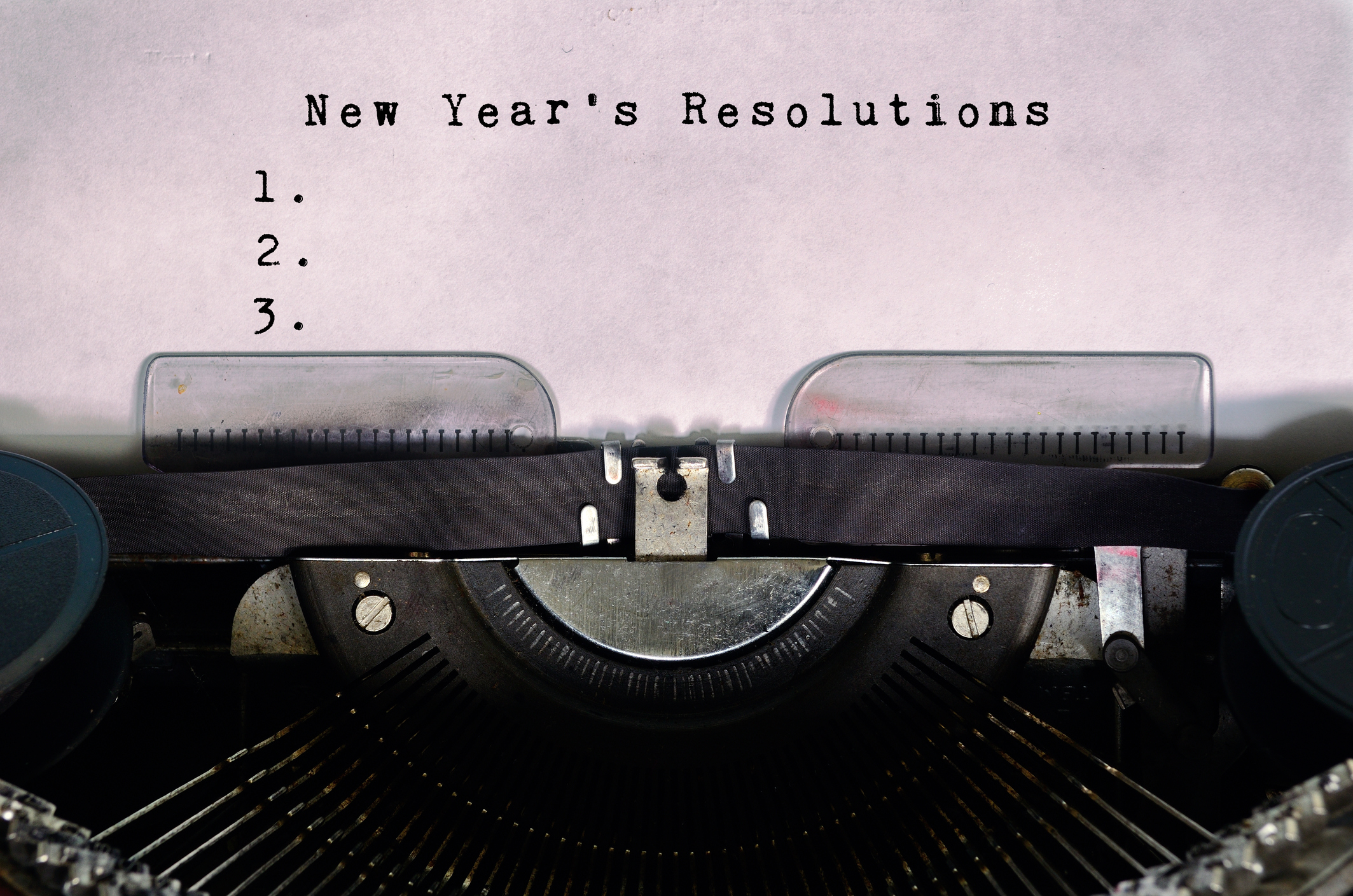 Rethinking New Year's Resolutions